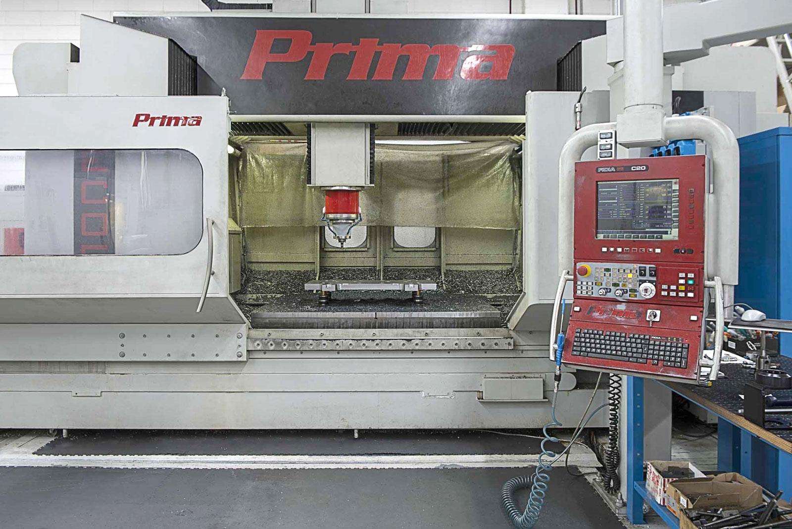 Centro di Lavoro vert. alta velocità 3/5x MECOF PRIMA 1.3