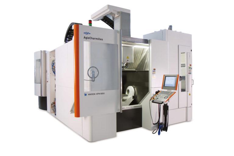 2 Centro di Lavoro ad alte prestazioni MIKRON HPM 800U